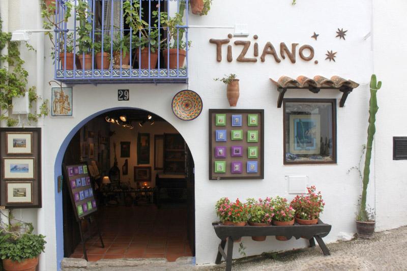 Tienda de Tiziano