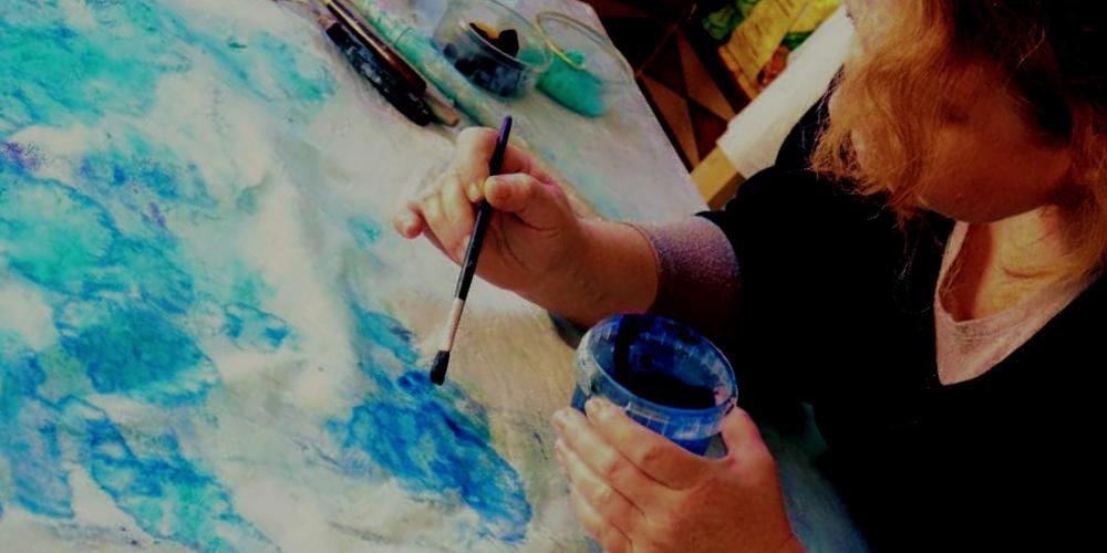 Curso con pigmentos naturales